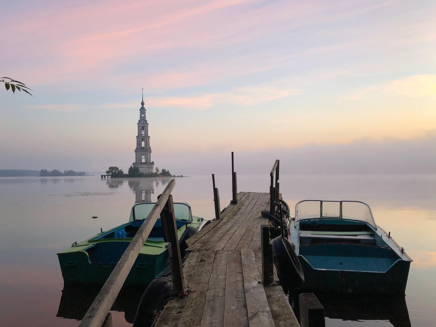 Калязин, русские старинные городки