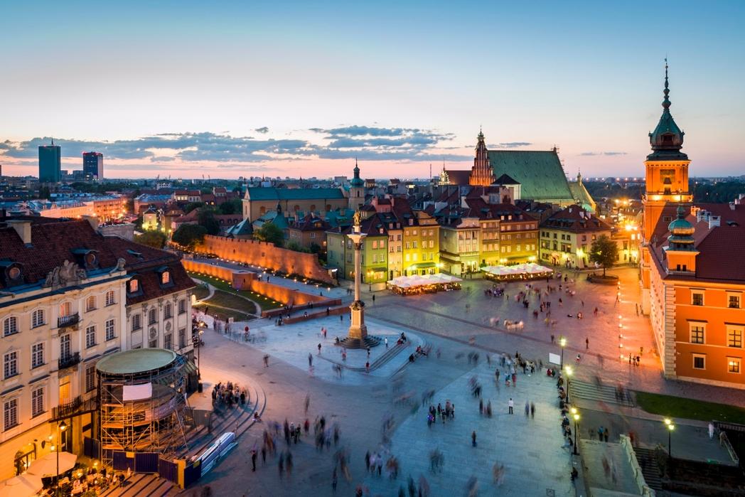 Παλιά Πόλη - ταξίδι στη Βαρσοβία
