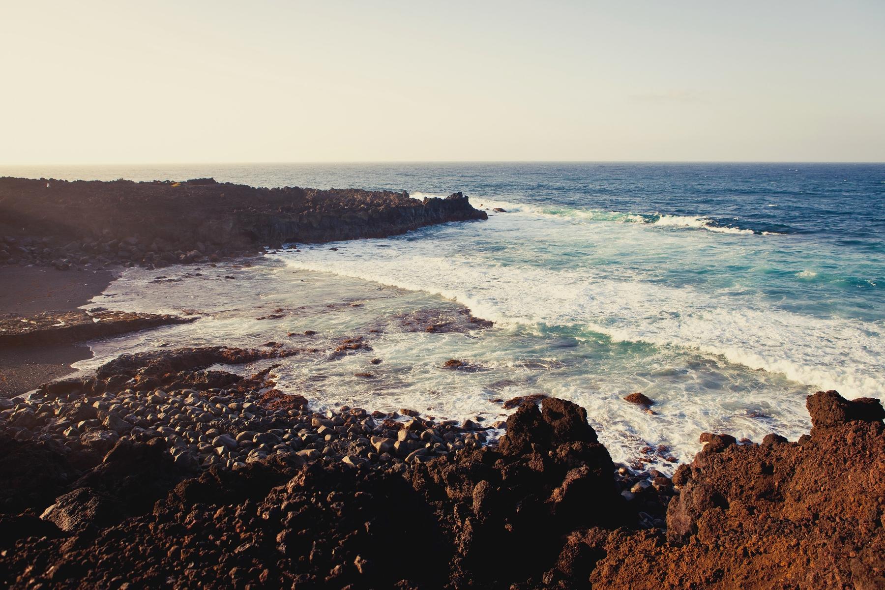 Las Malvas beach Lanzarote
