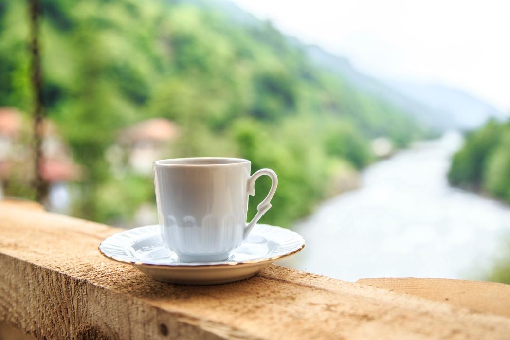 Φλιτζάνι με ελληνικό καφέ