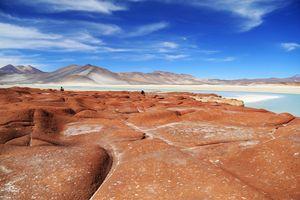Звездное небо в пустыне Атакама в Чили