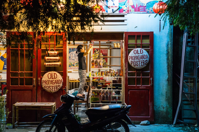 Киношный городок Хойан во Вьетнаме