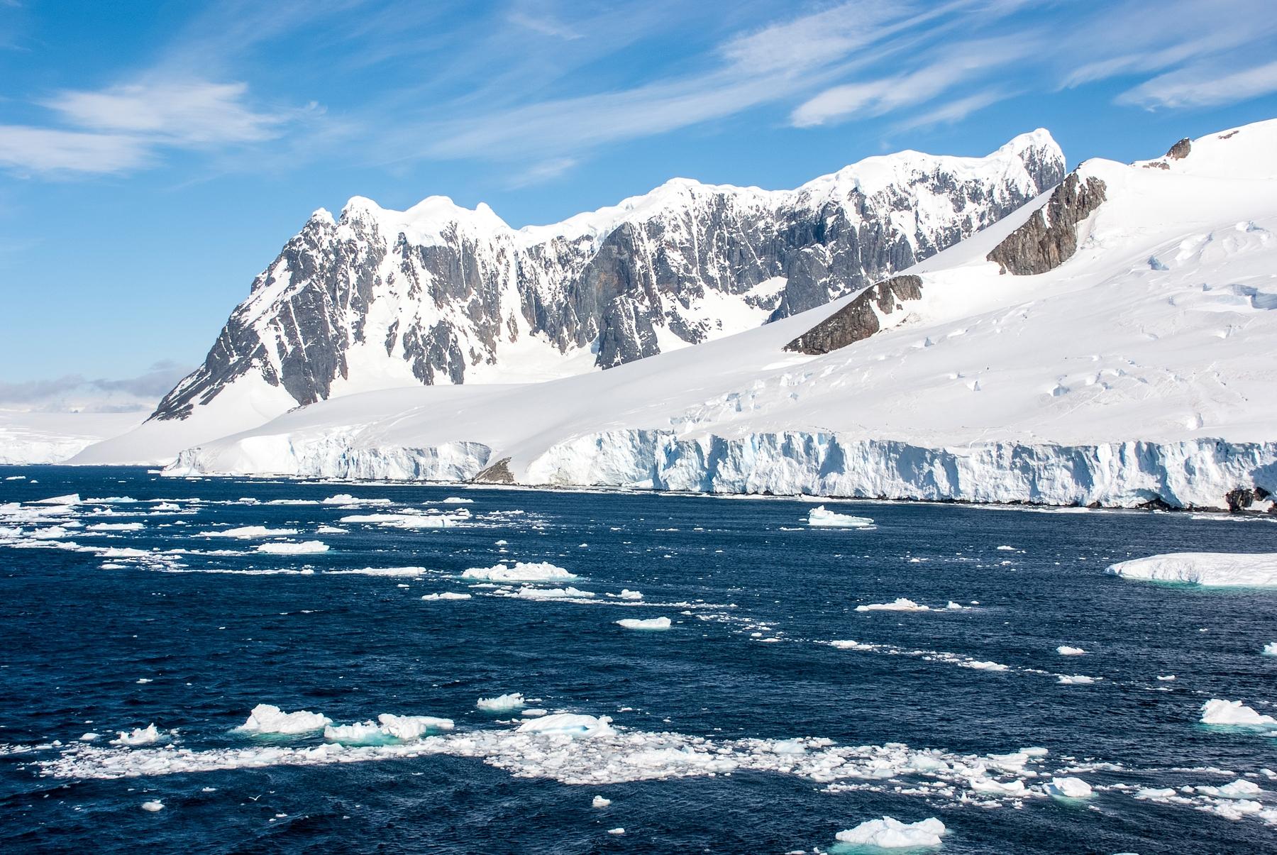 Antártica, um dos lugares que deve se abrir aos poucos para o turismo.