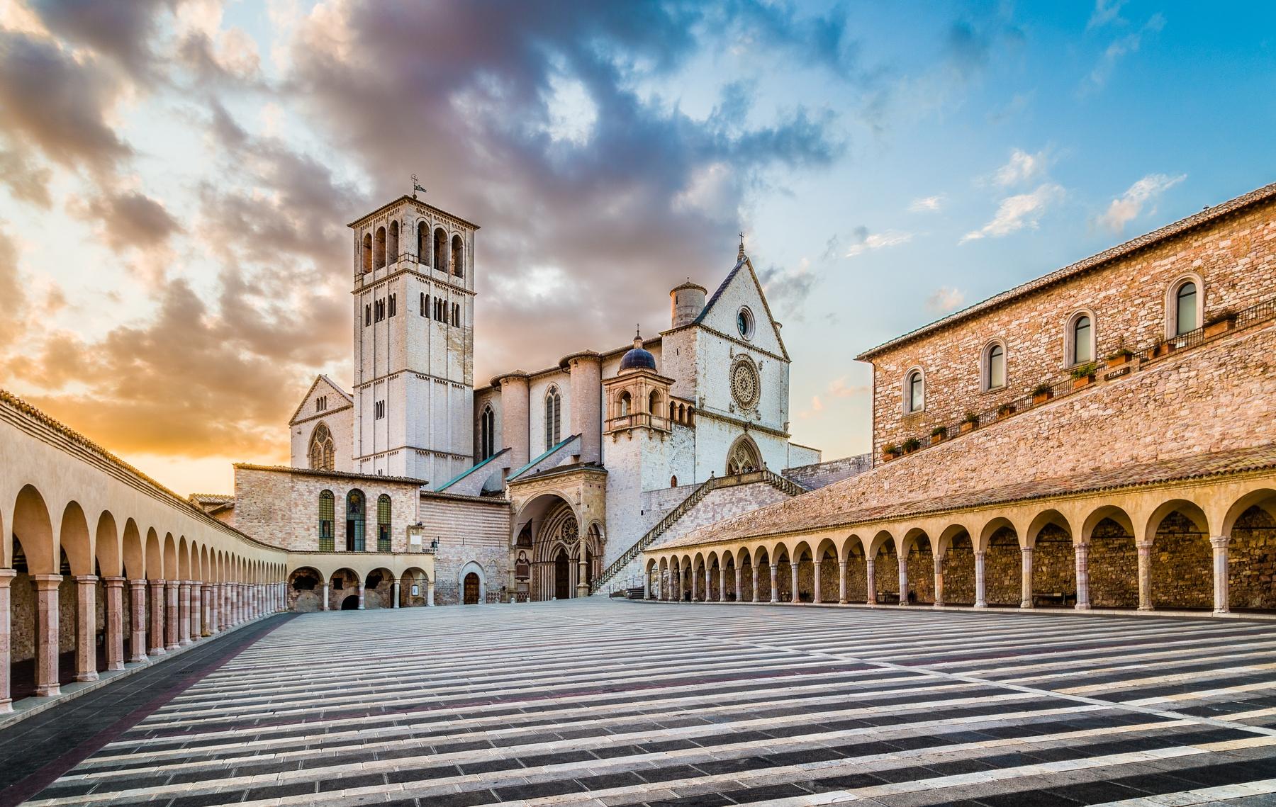 cosa visitare in Umbria: la città di Assisi
