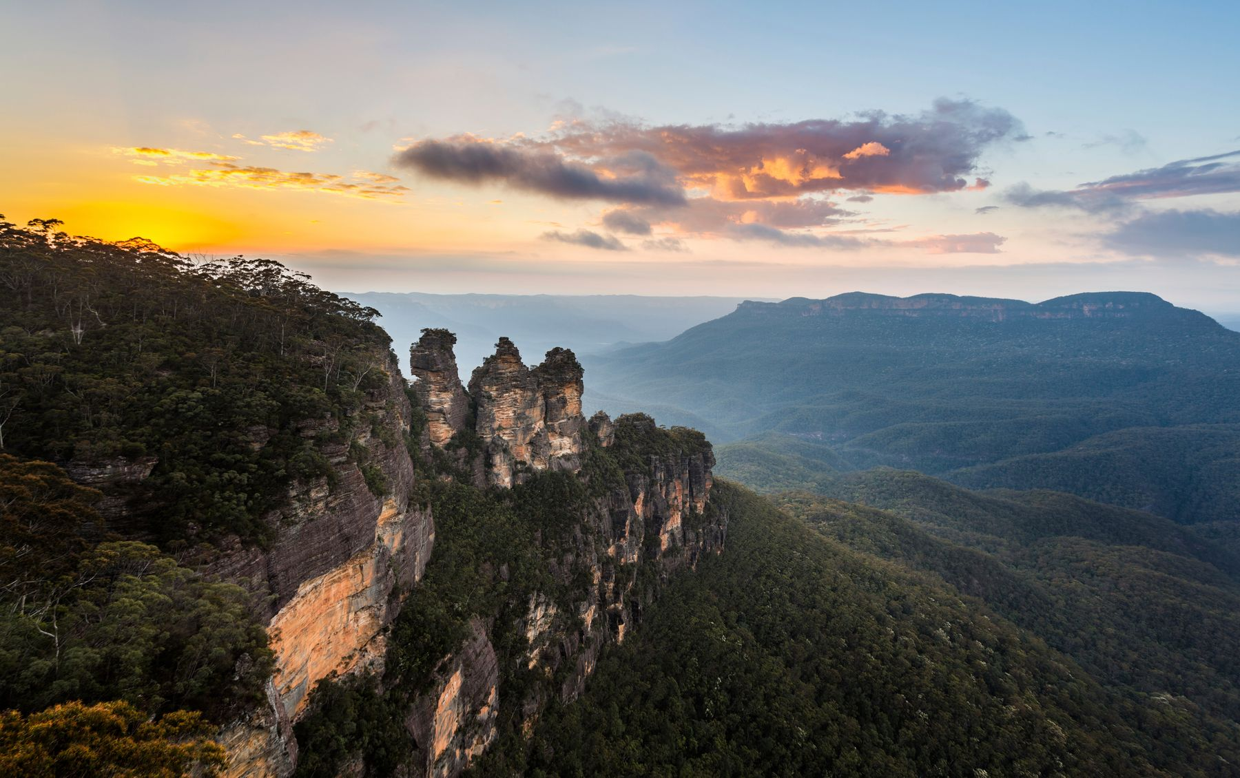 Blue Mountains, an incredible place to go hiking in Sydney