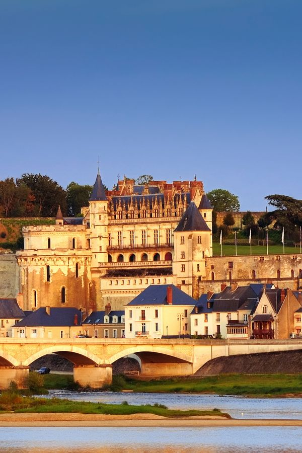 Die schönsten Burgen und Schlösser an der Loire: Schloss Amboise