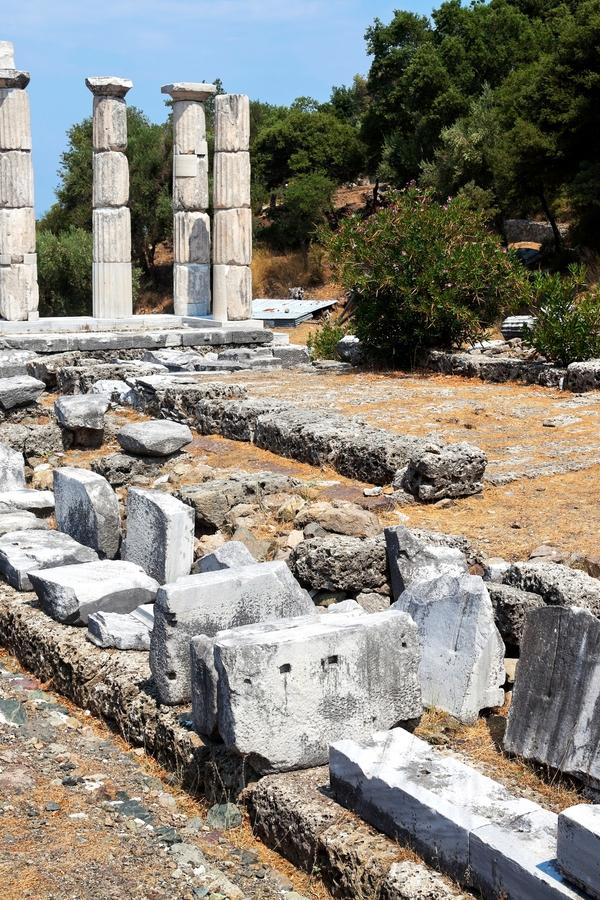 Unbekannte und abgelegene Reiseziele:  Samothraki, Griechenland