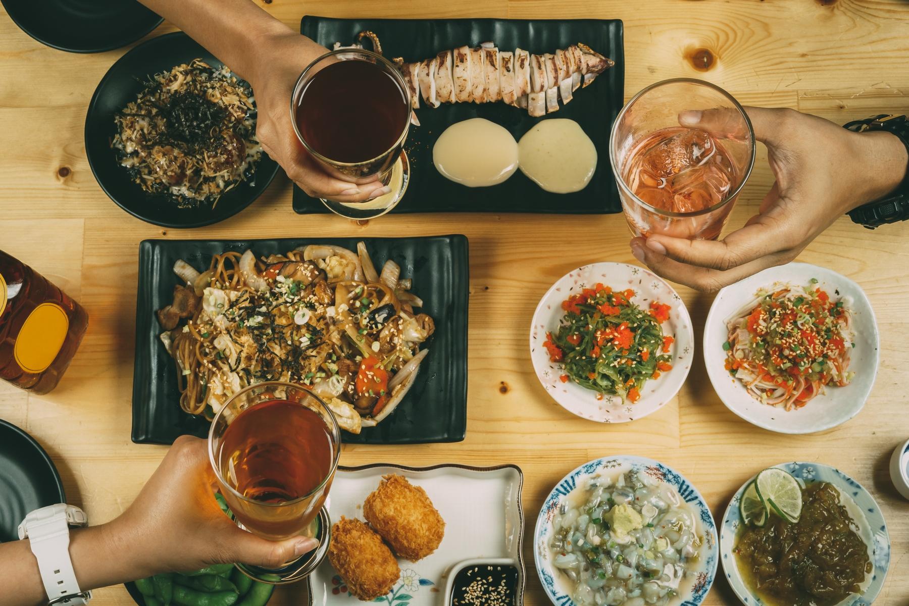 Гастрономический велнес-туризм. Якисоба, такояки, кальмары на гриле и другие блюда японской кухни