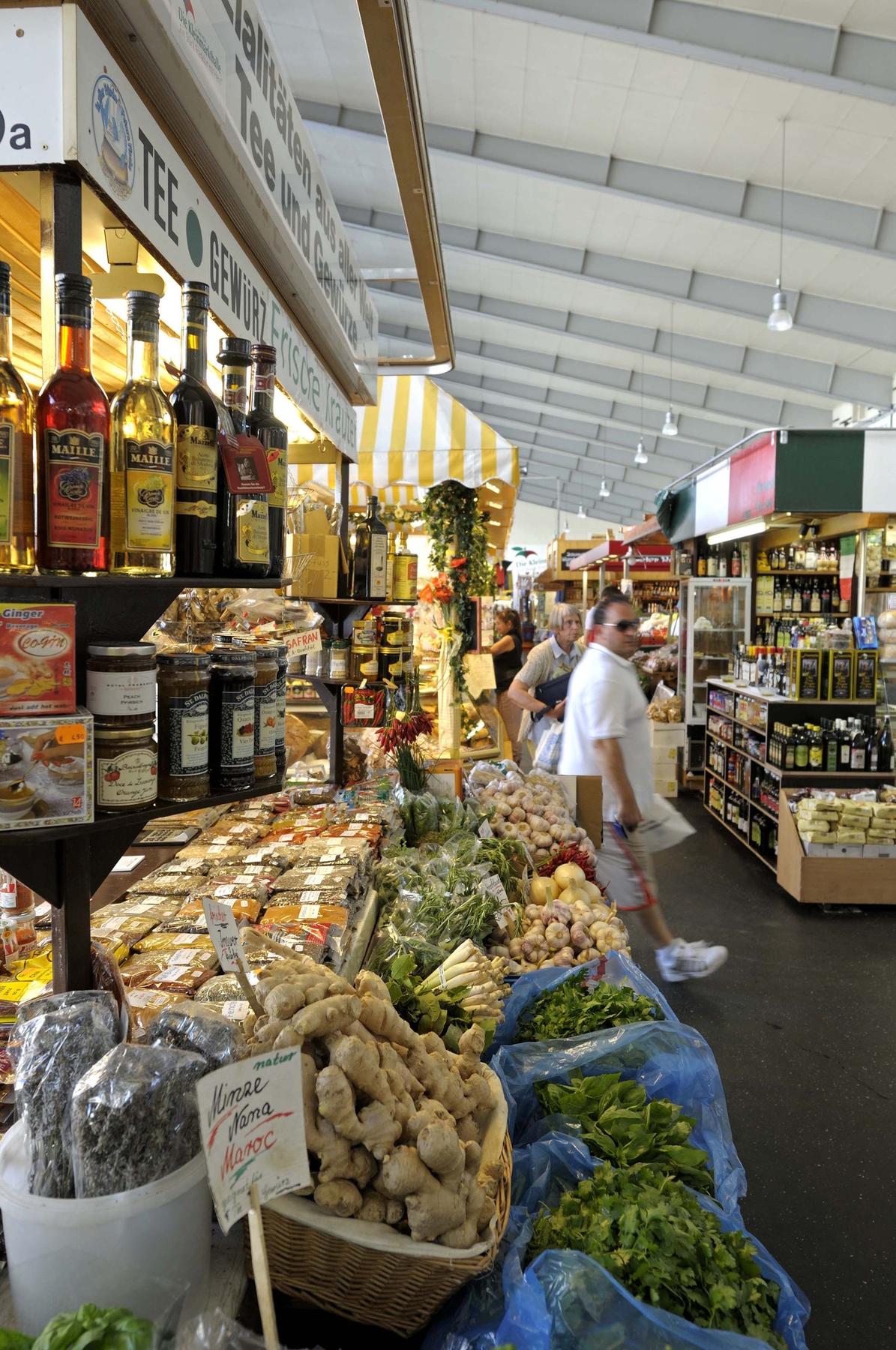 Kostenlose Aktivitäten in Frankfurt: Besucht die Frankfurter Kleinmarkthalle