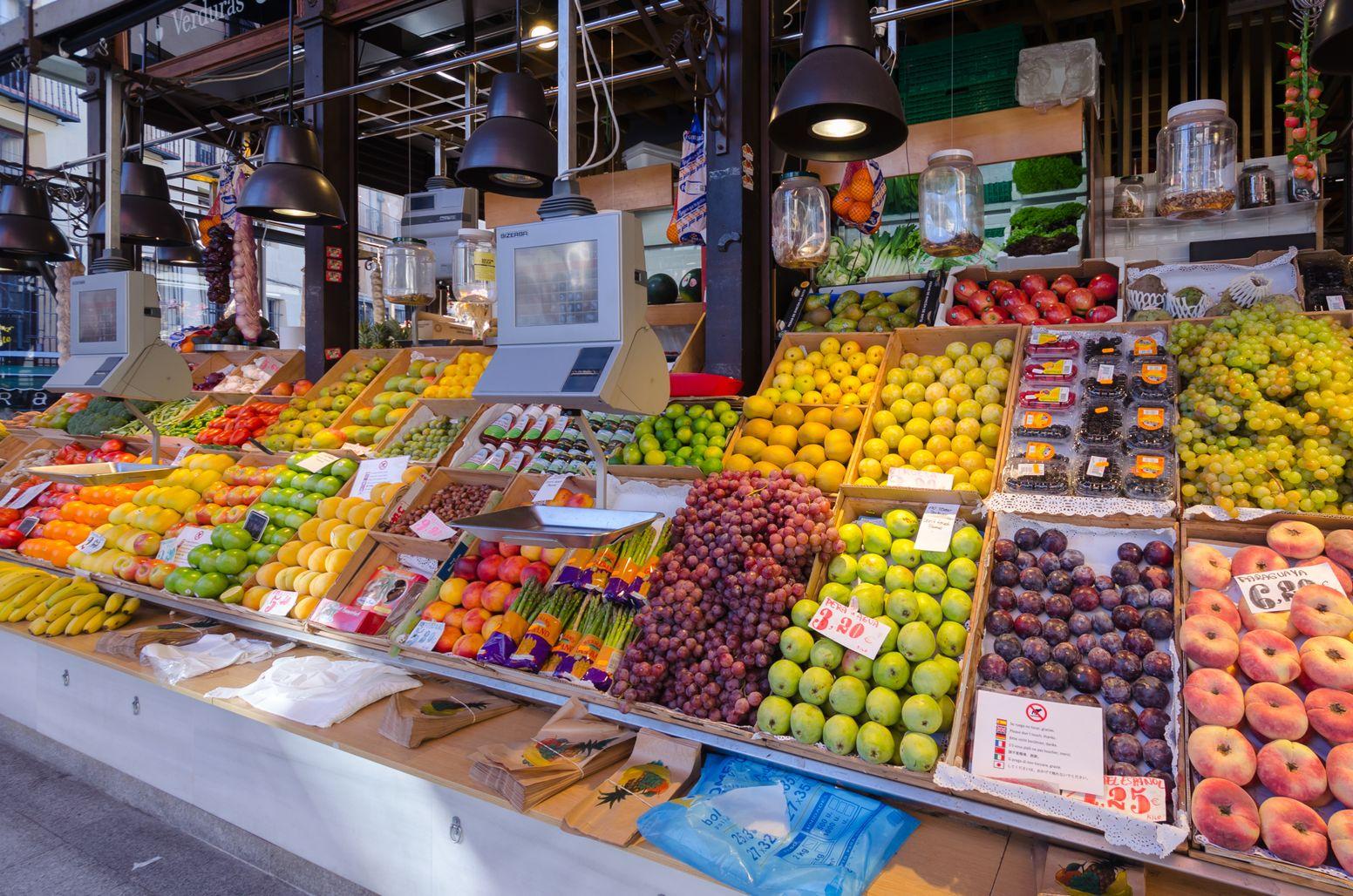 Η πανέμορφη αγορά τροφίμων Μercado de San Miguel, στην πλατεία San Miguel της Μαδρίτης