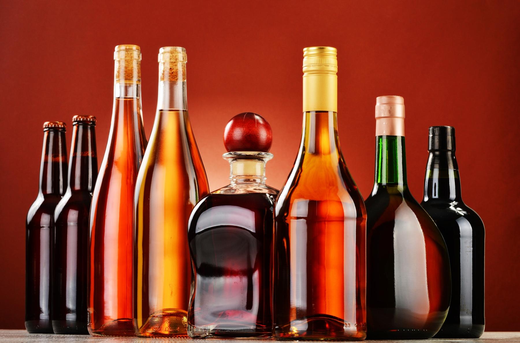 Einfuhrbestimmungen bei alkoholhaltigen Getränken