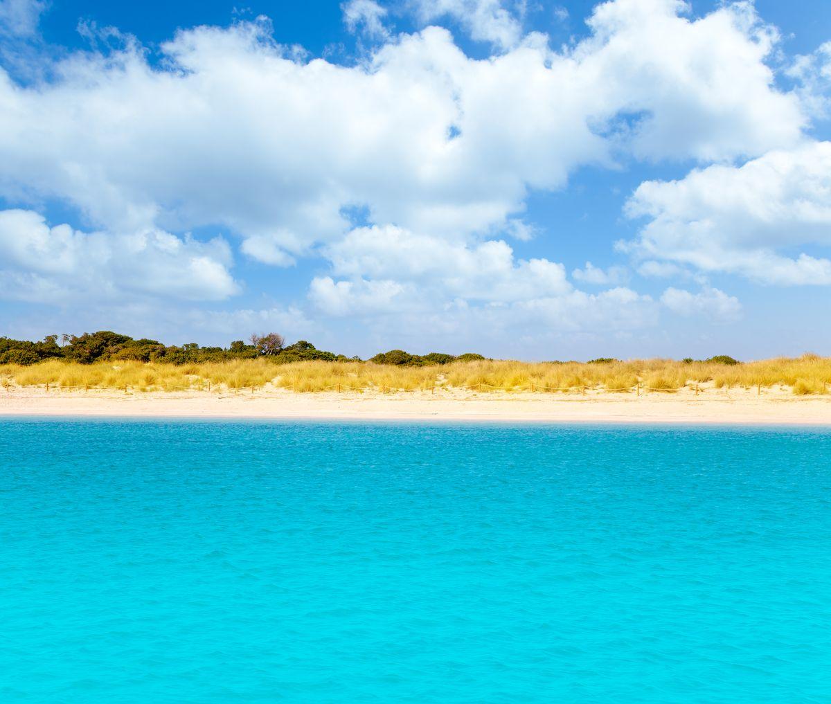 Playa S'Alga (Espalmador), Formentera, Balearics, Spain
