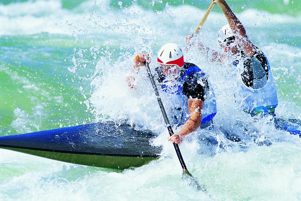 Αθλητές του canoe kayak