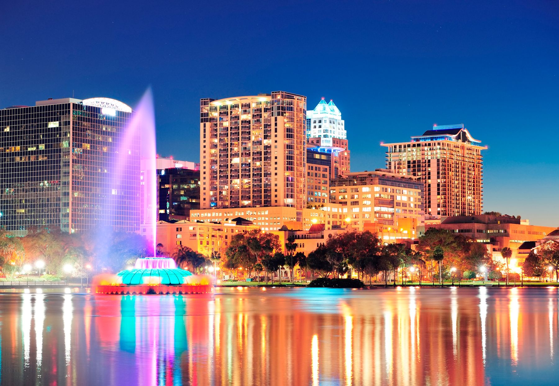 Orlando Florida is home to many theme parks, perfect if you want to plan a trip a year in advance