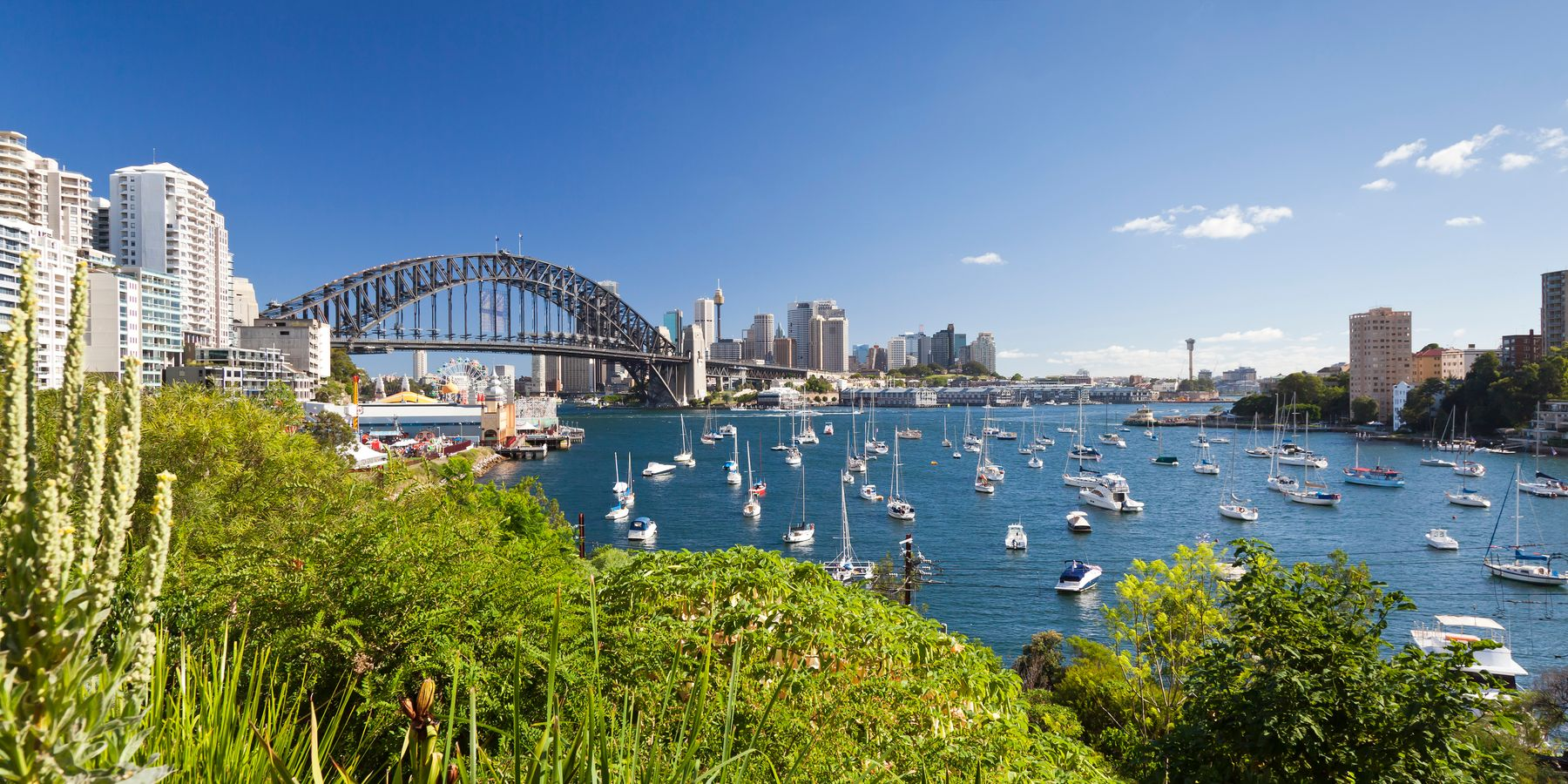 An image of harbour bridge in Sydney , New South Wales, Australia