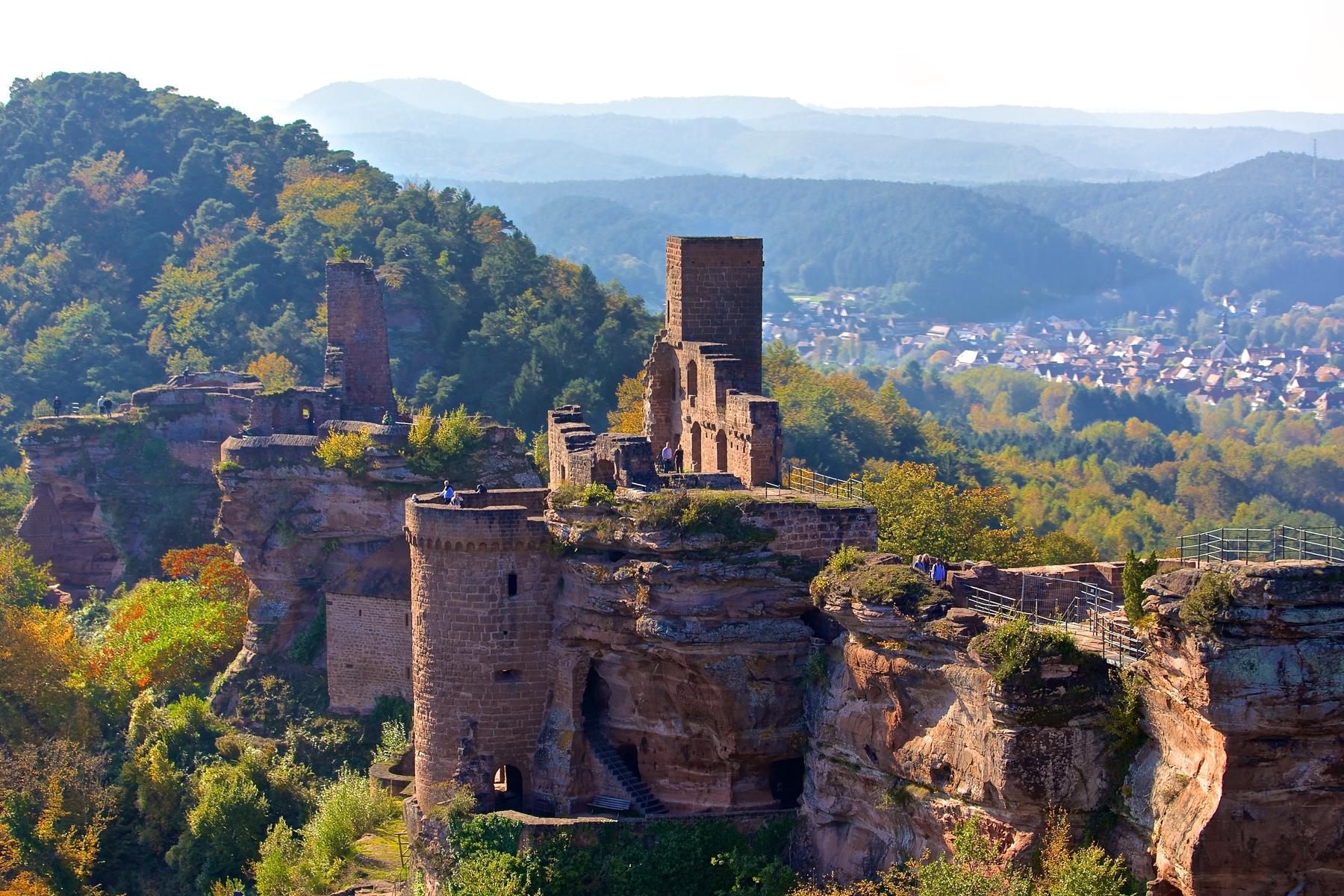Geheimtipps für einen Urlaub in Deutschland: Dahner Felsenland