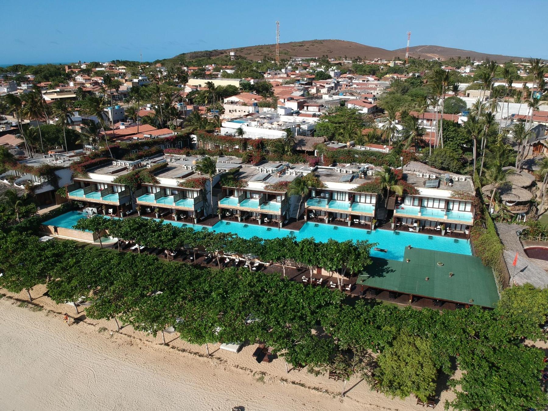 Vista aérea do Essenza Hotel Jericoacoara