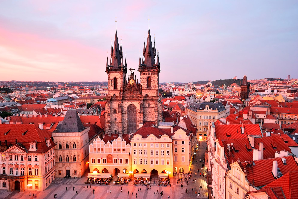 Flight deals to Europe: Prague