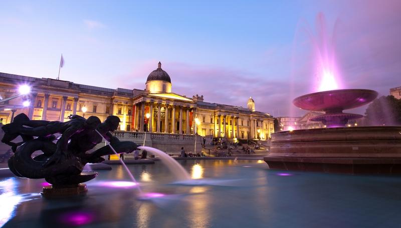Trafalgar Square London - לונדון