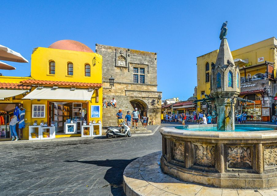 Acropolis of Lindos, Rhodes Island - Best Greek Islands to visit