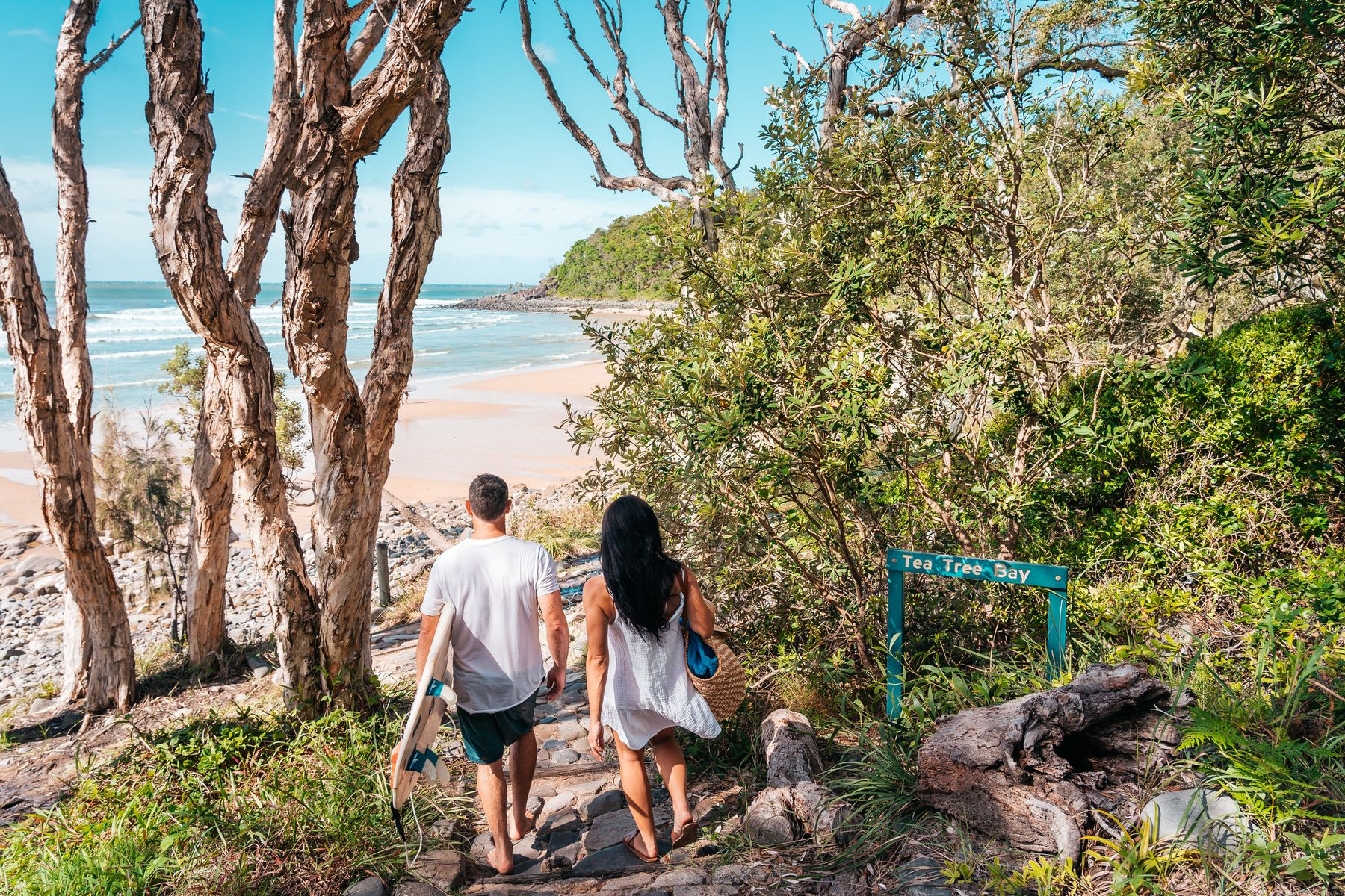 Explore the coastlines and rainforests on holiday in Queensland