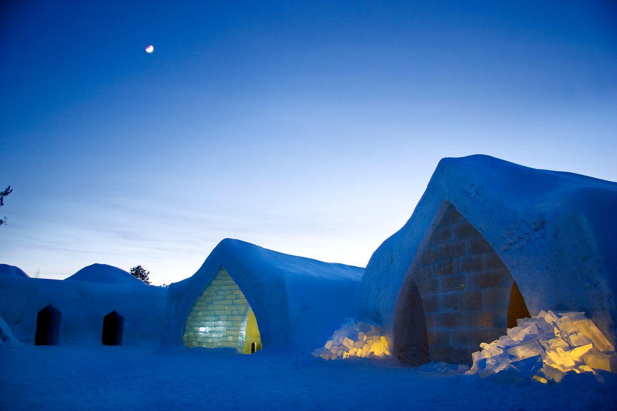 Χειμερινές διακοπές στο παγερό Ροβανιέμι της Φινλανδίας