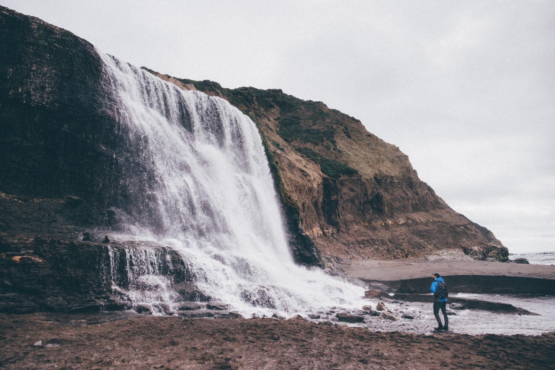 Водопады Аламере (Аламир) в Калифорнии — одно из самых впечатляющих заброшенных мест в мире