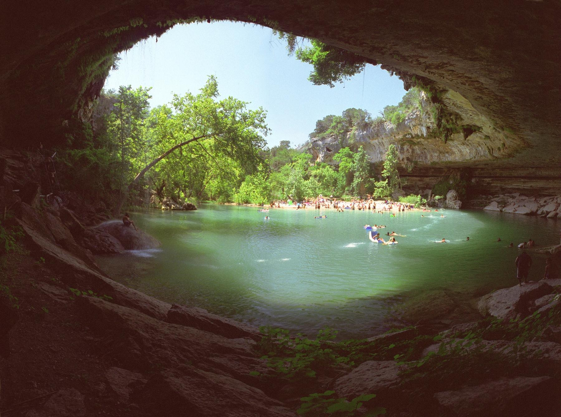 Hamilton pool outside of Austin