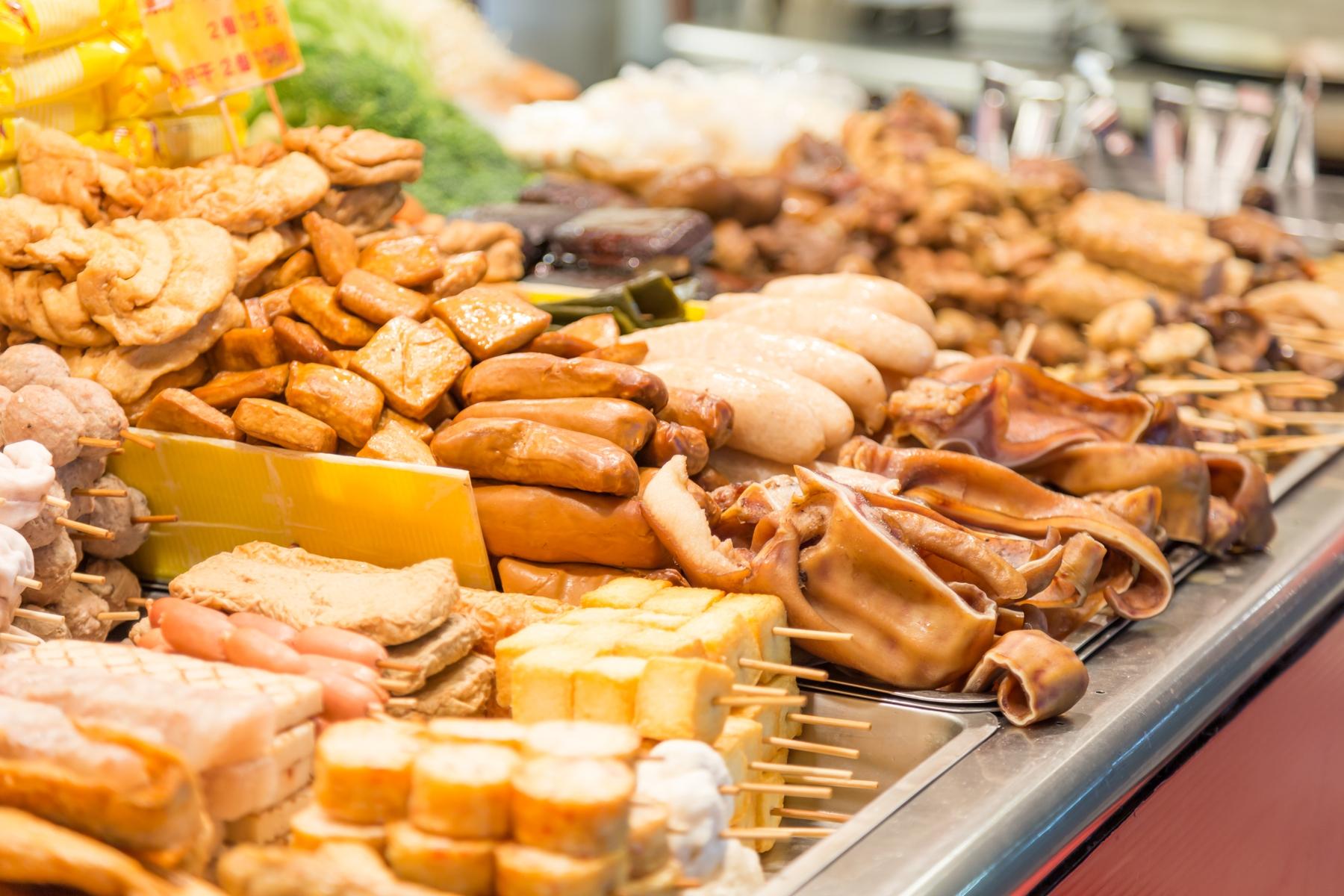 台灣夜市小食