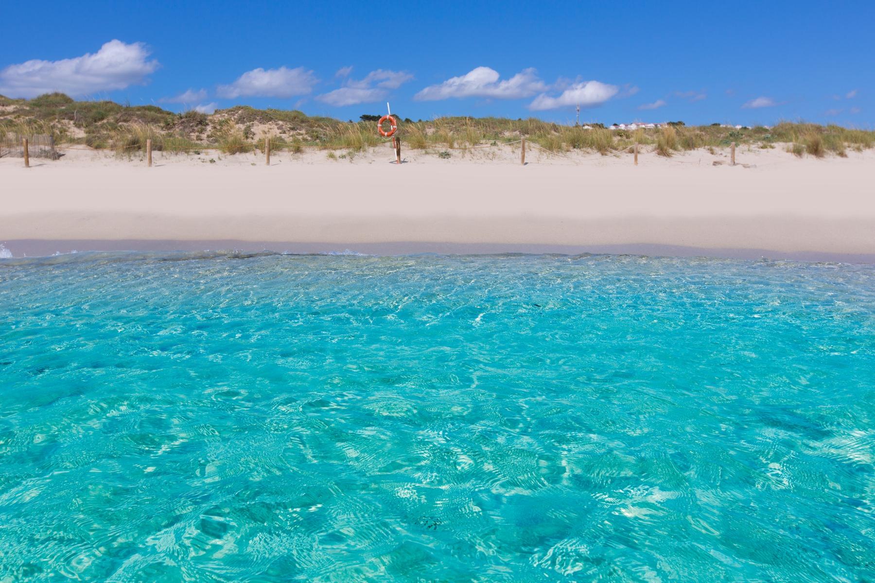 Spiagge Formentera: Playa de Es Pujols