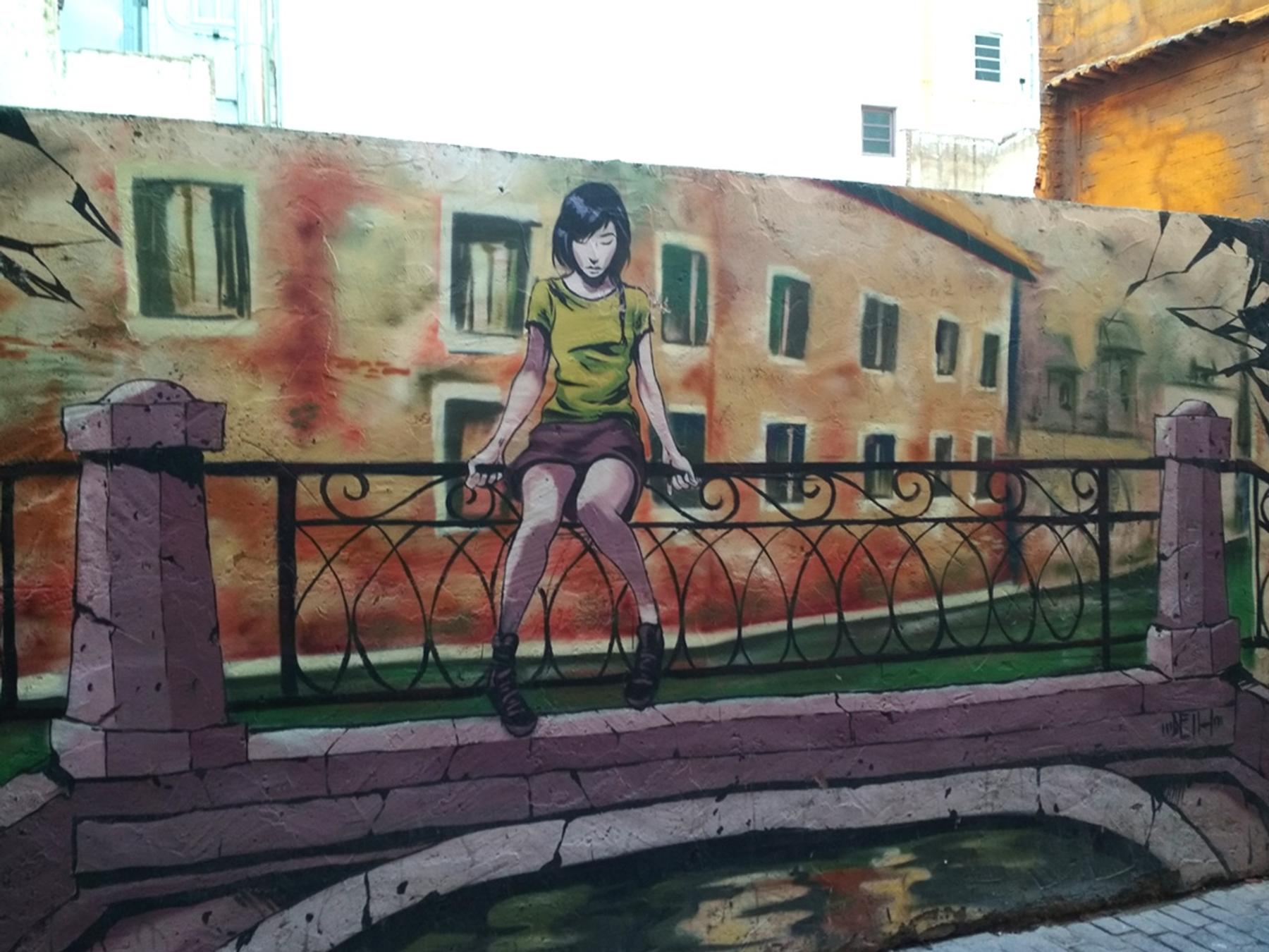 mural arte urbano que ver en Valencia