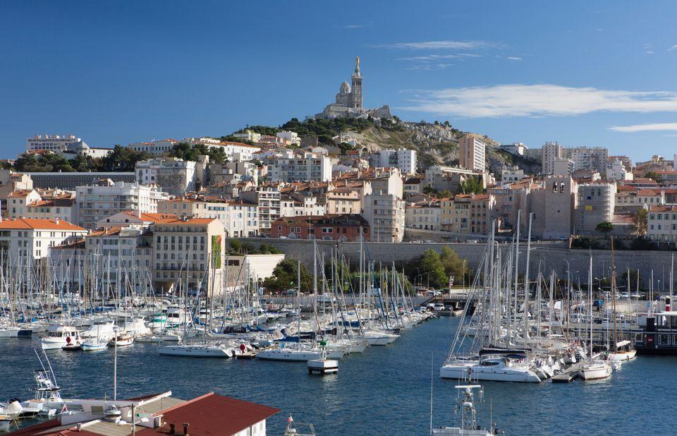 Το λιμάνι της Μασσαλίας, Γαλλία