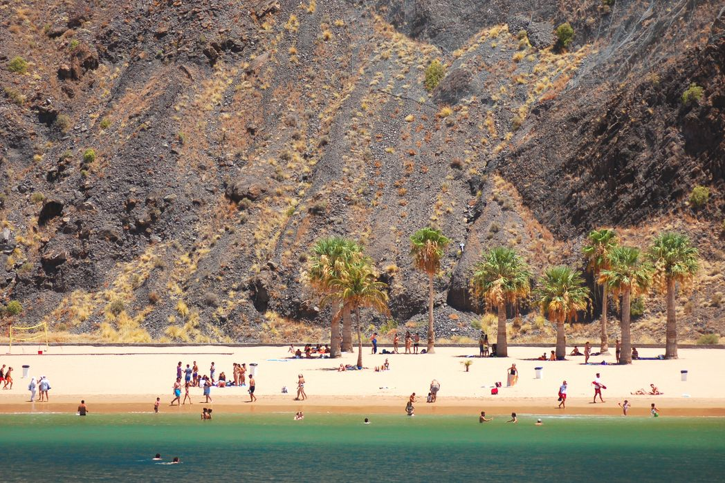 Beach in Tenerife, Canary Islands