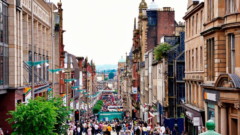 Things to see and do in Glasgow: Buchanan Street
