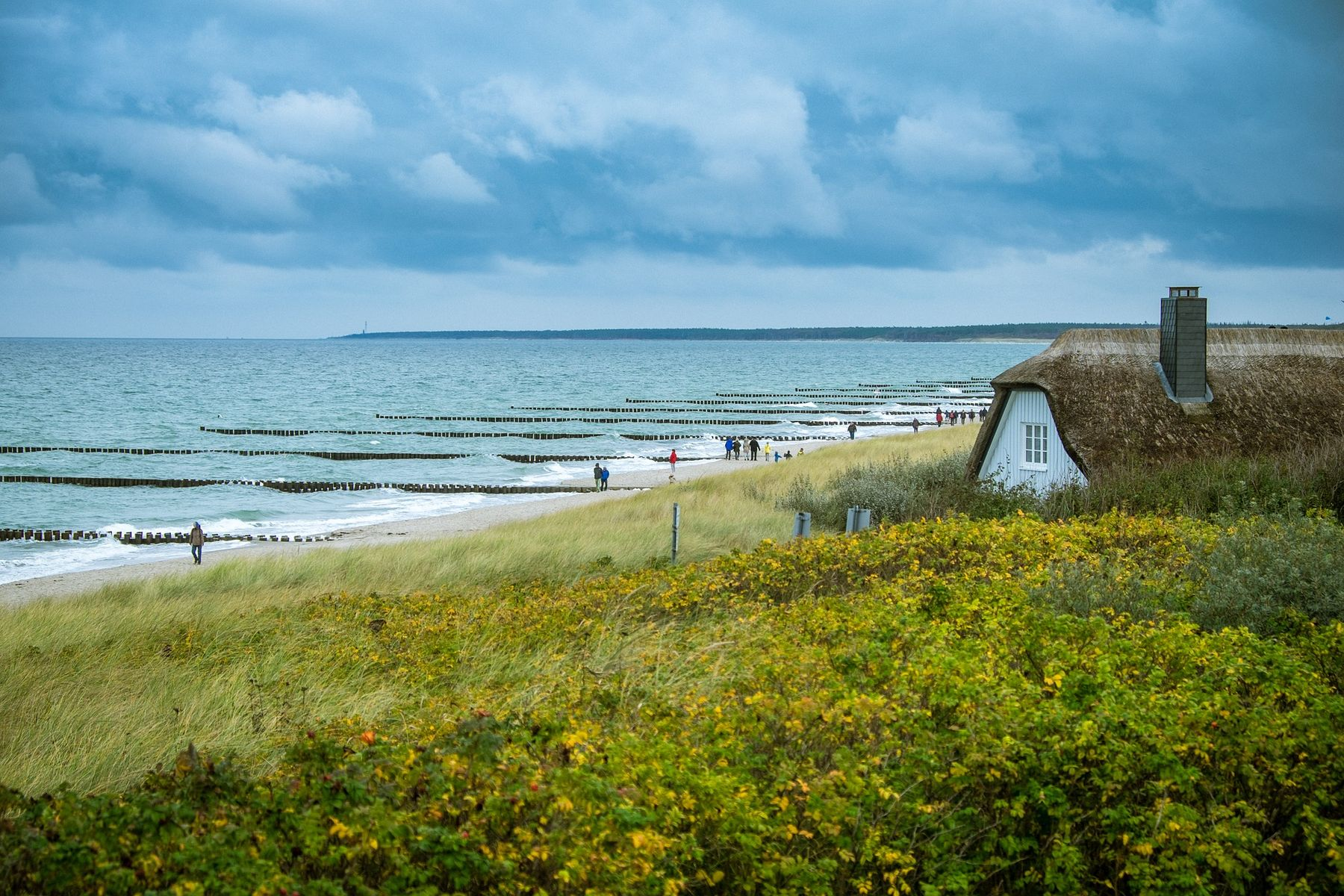 Mooie plaatsen Duitsland Ahrenshoop in Mecklenburg-Vorpommern