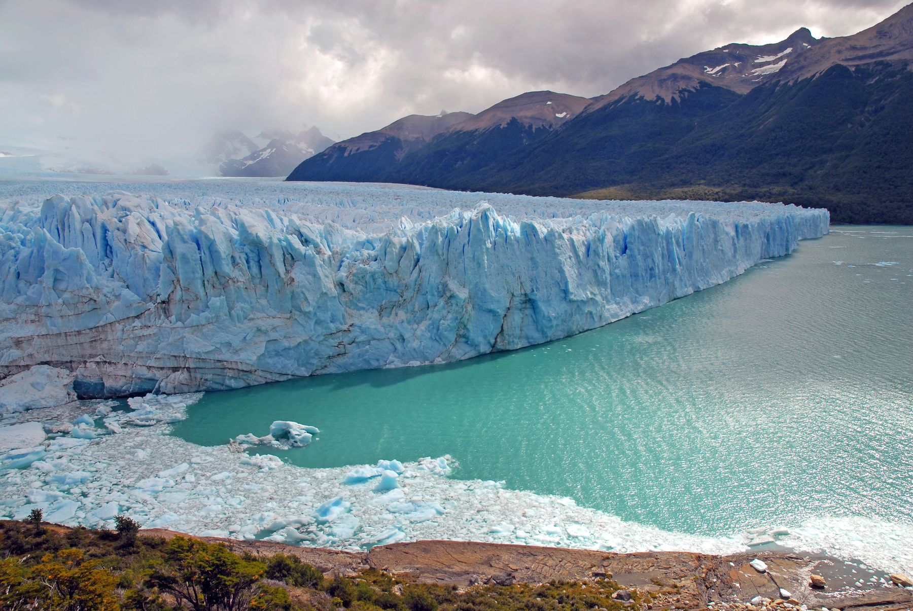 Los Glaciares National Park in Argentina is one of the lesser known world wonders