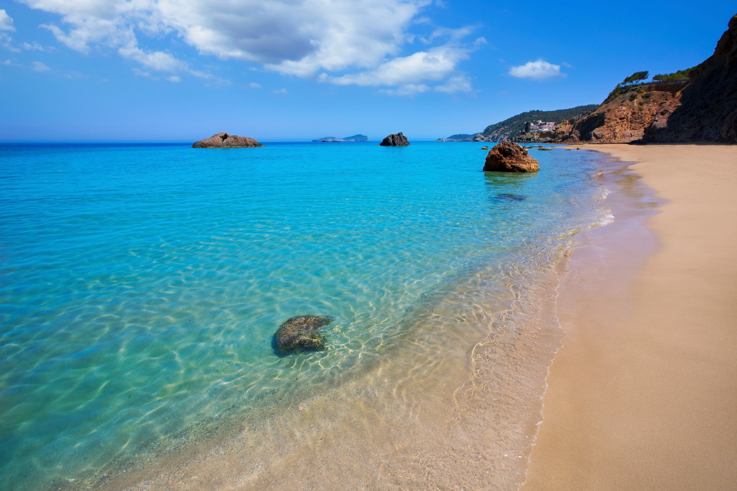 Beach in Ibiza - the 17 most beautiful places to visit in the Balearic Islands, Spain