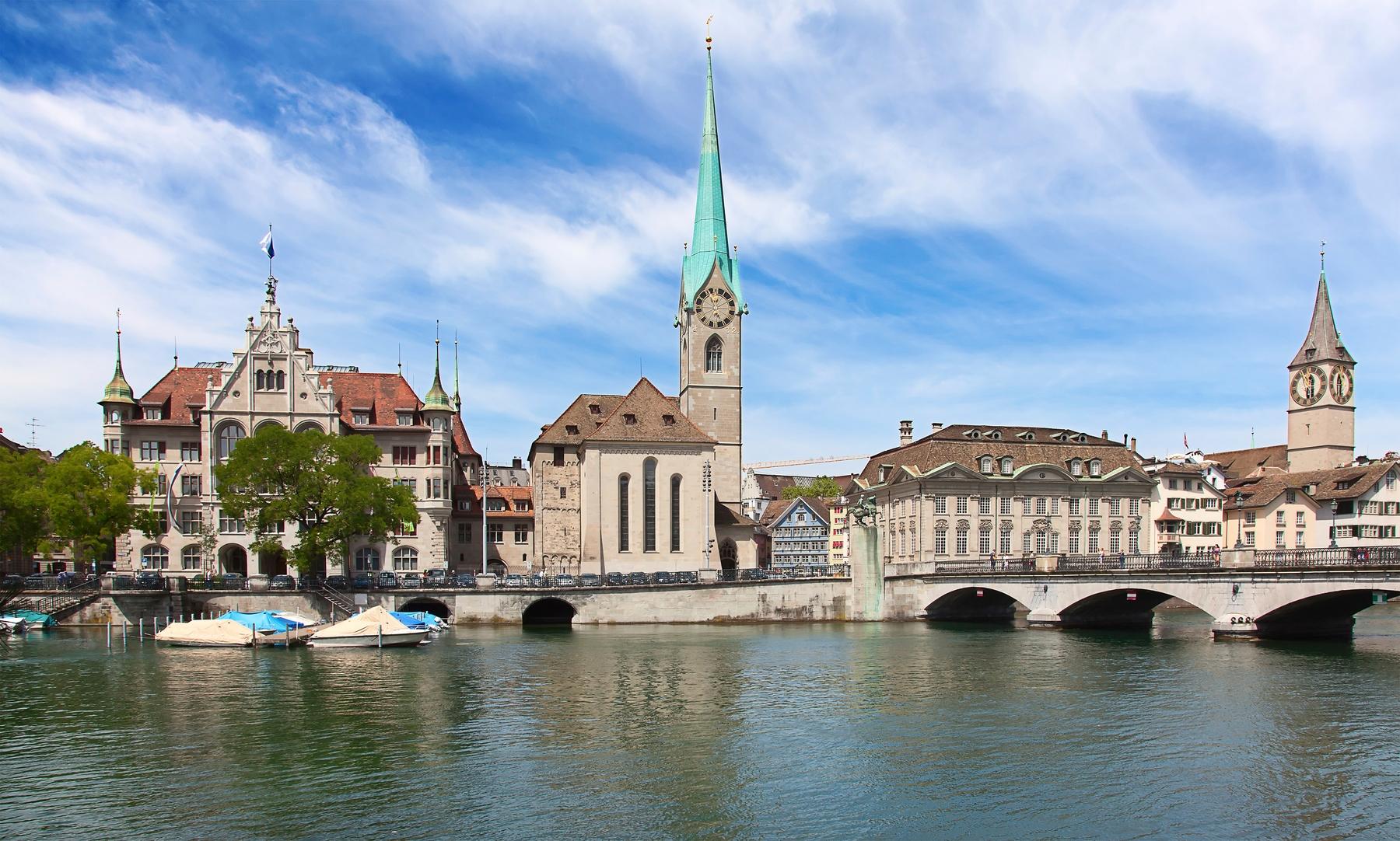 Switzerland cityscape