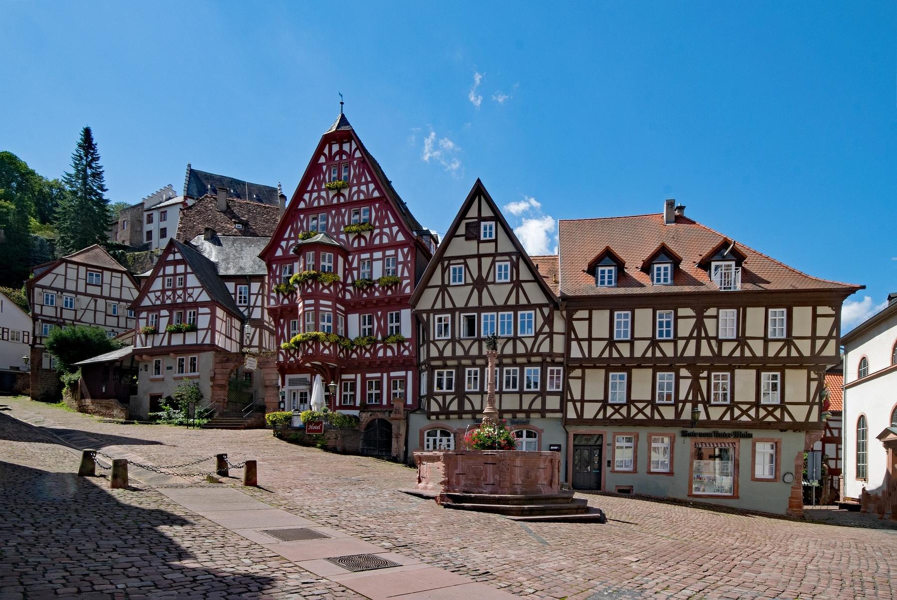 Miltenberg in Beieren Duitsland