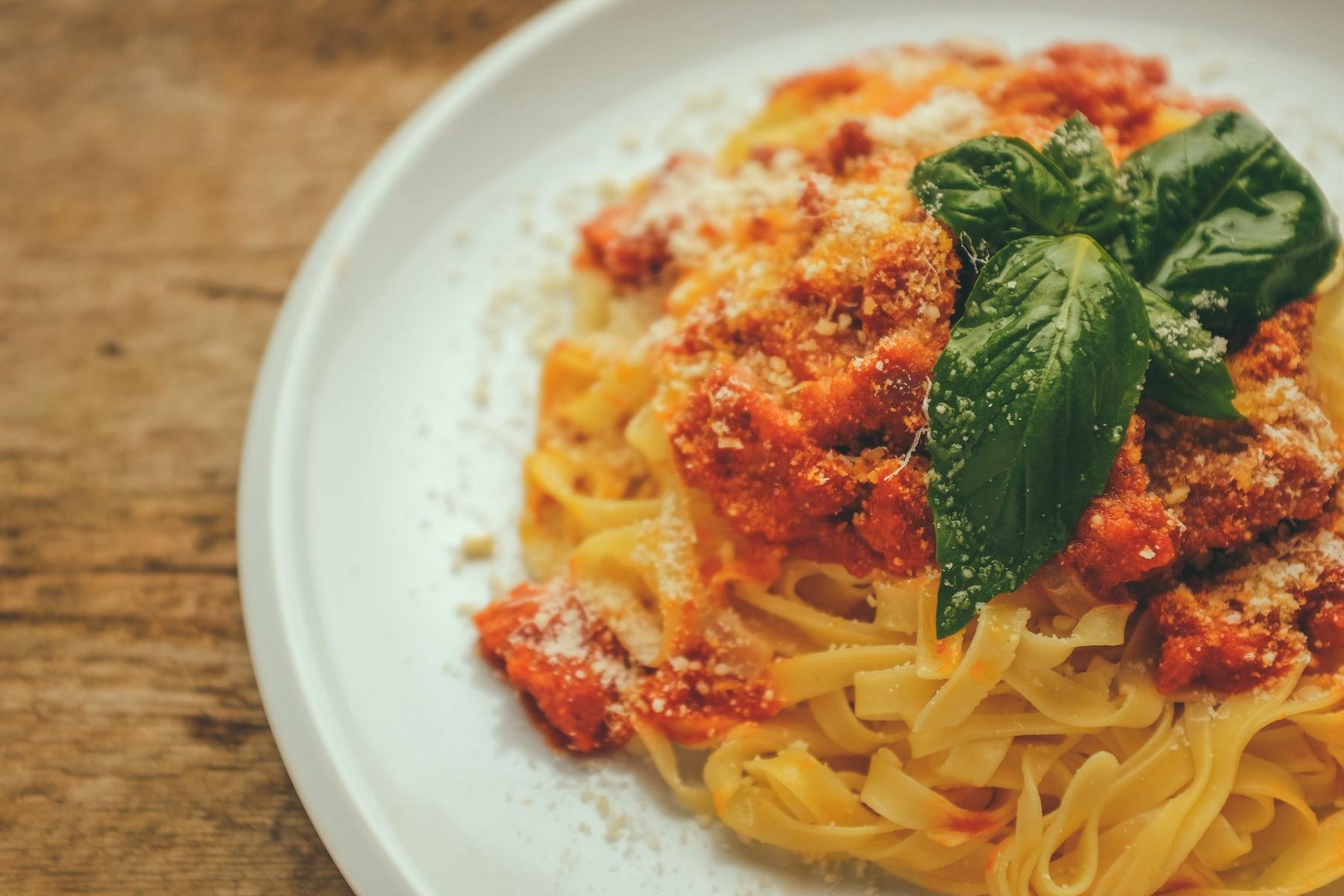 Итальянская паста тальятелли