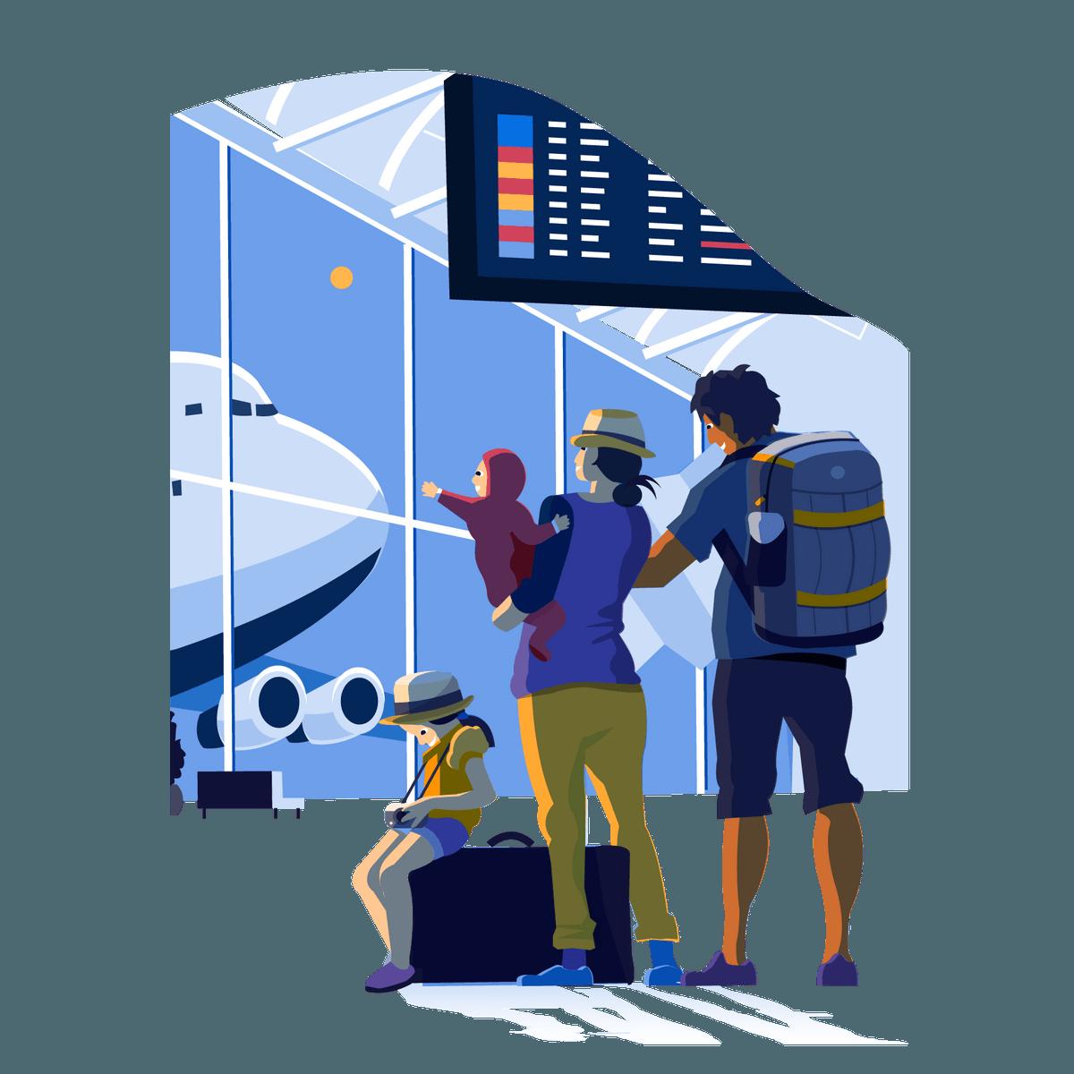 Новые правила в аэропорту из-за коронавируса