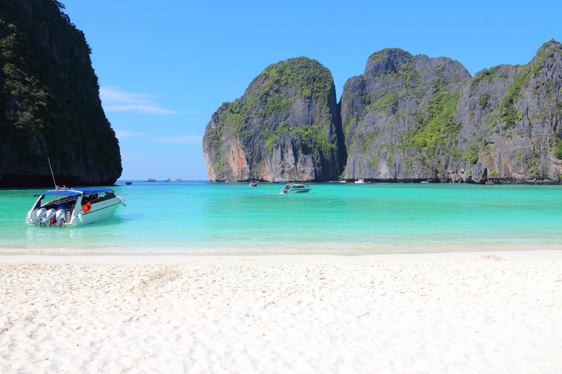 Рейтинг самых красивых пляжей — Майя-Бэй, остров Пхи-Пхи-Ле, Таиланд