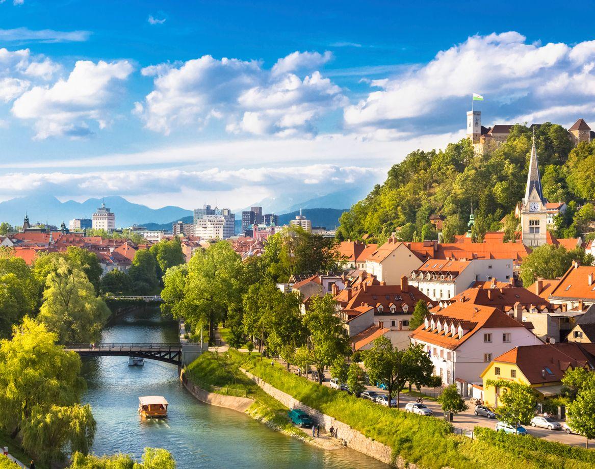 Tαξιδέψτε με τη μαμά στην καταπράσινη Λιουμπλιάνα της Σλοβενίας