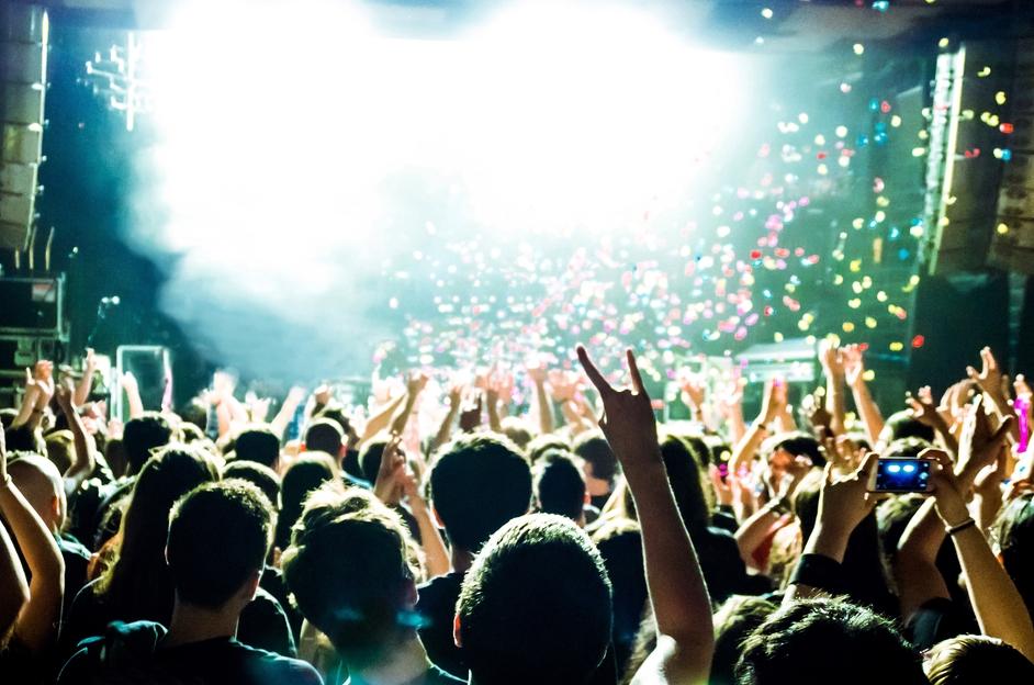 Концерт на рок-фестивале в Финляндии