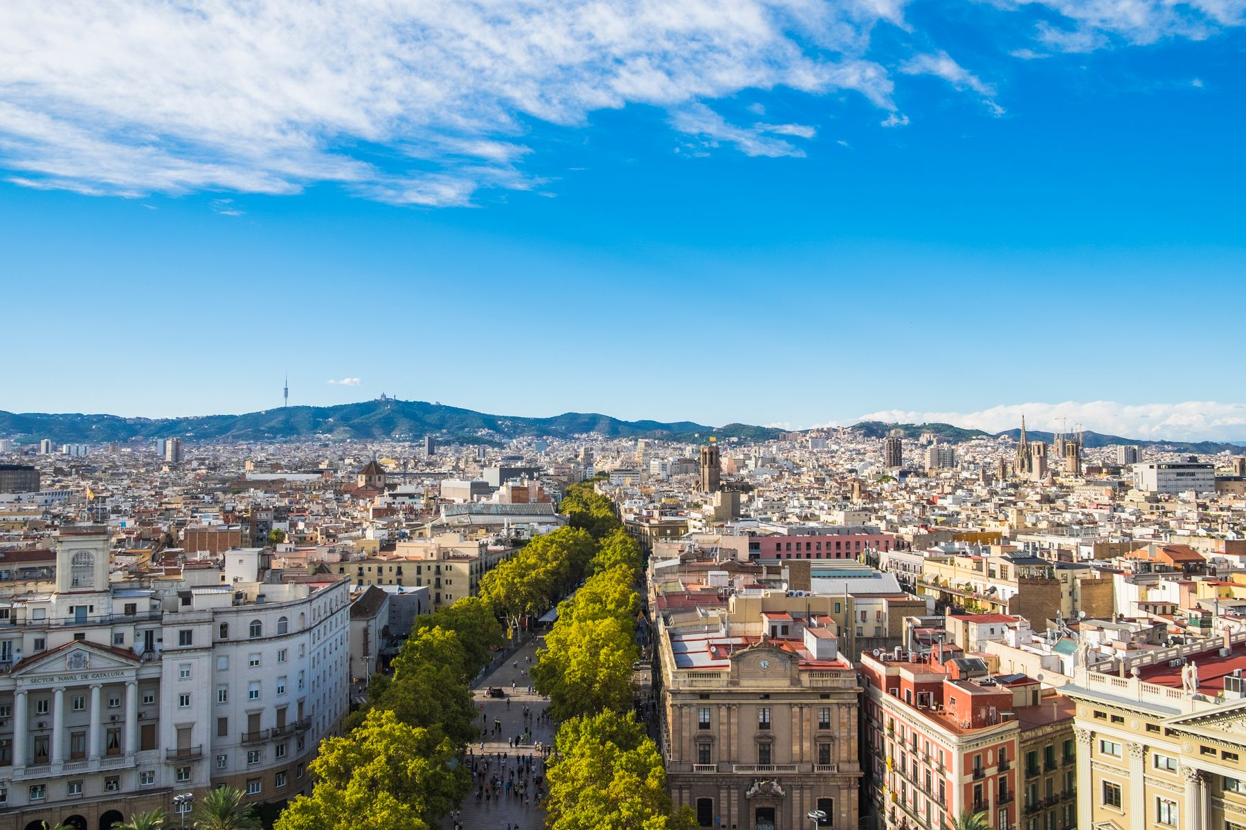 Barcelona is one of the destinations you can virtually travel to by means of travel shows on Netflix and other platforms