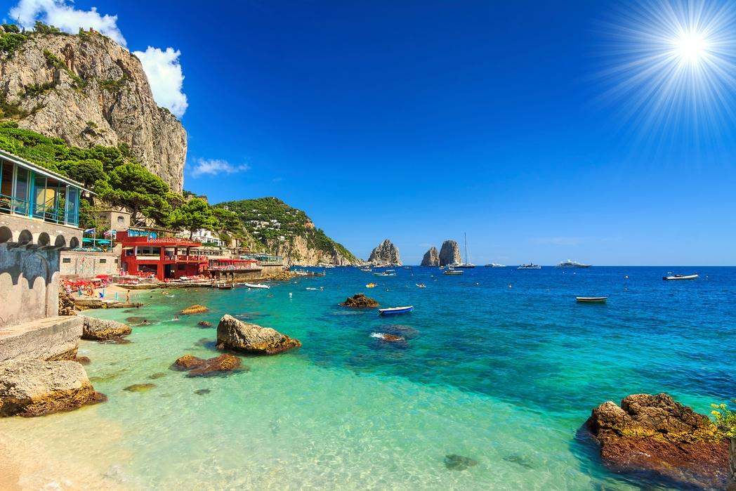 Spiagge più belle della Campania: Capri
