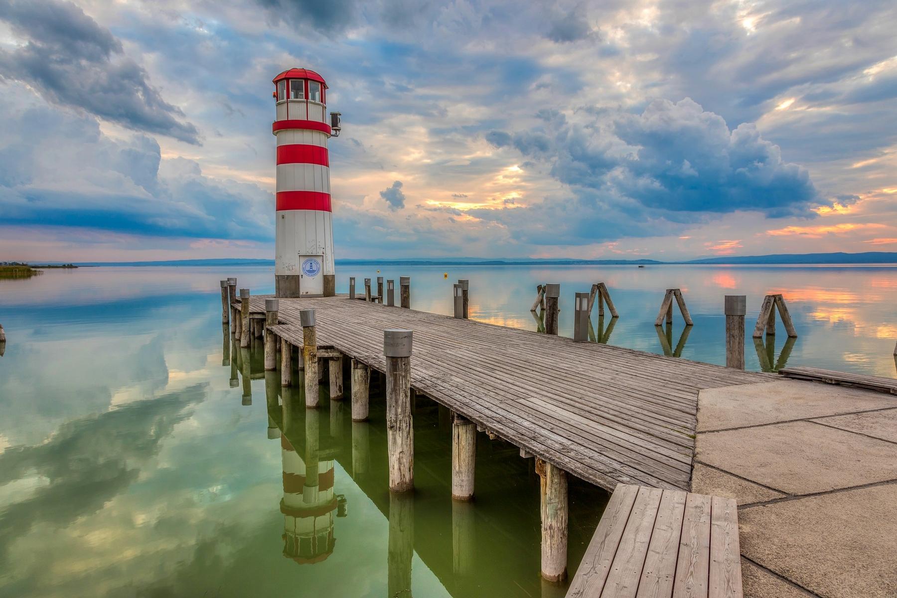 Der Neusiedlersee ist einer der schönsten Seen Österreichs