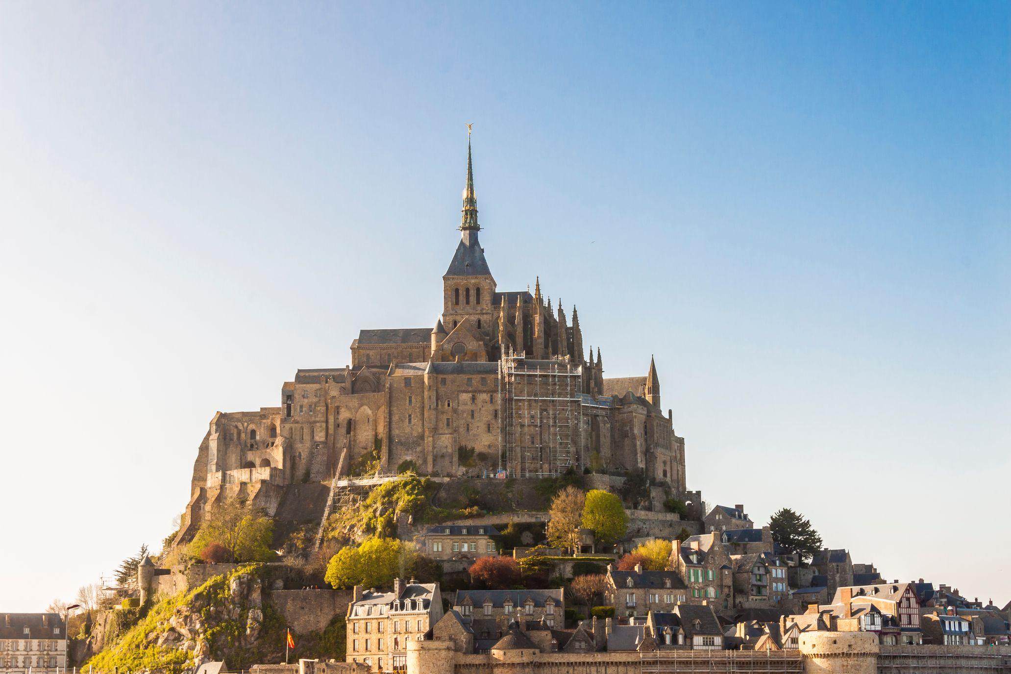 Un holistay digital au Mont-Saint-Michel en France