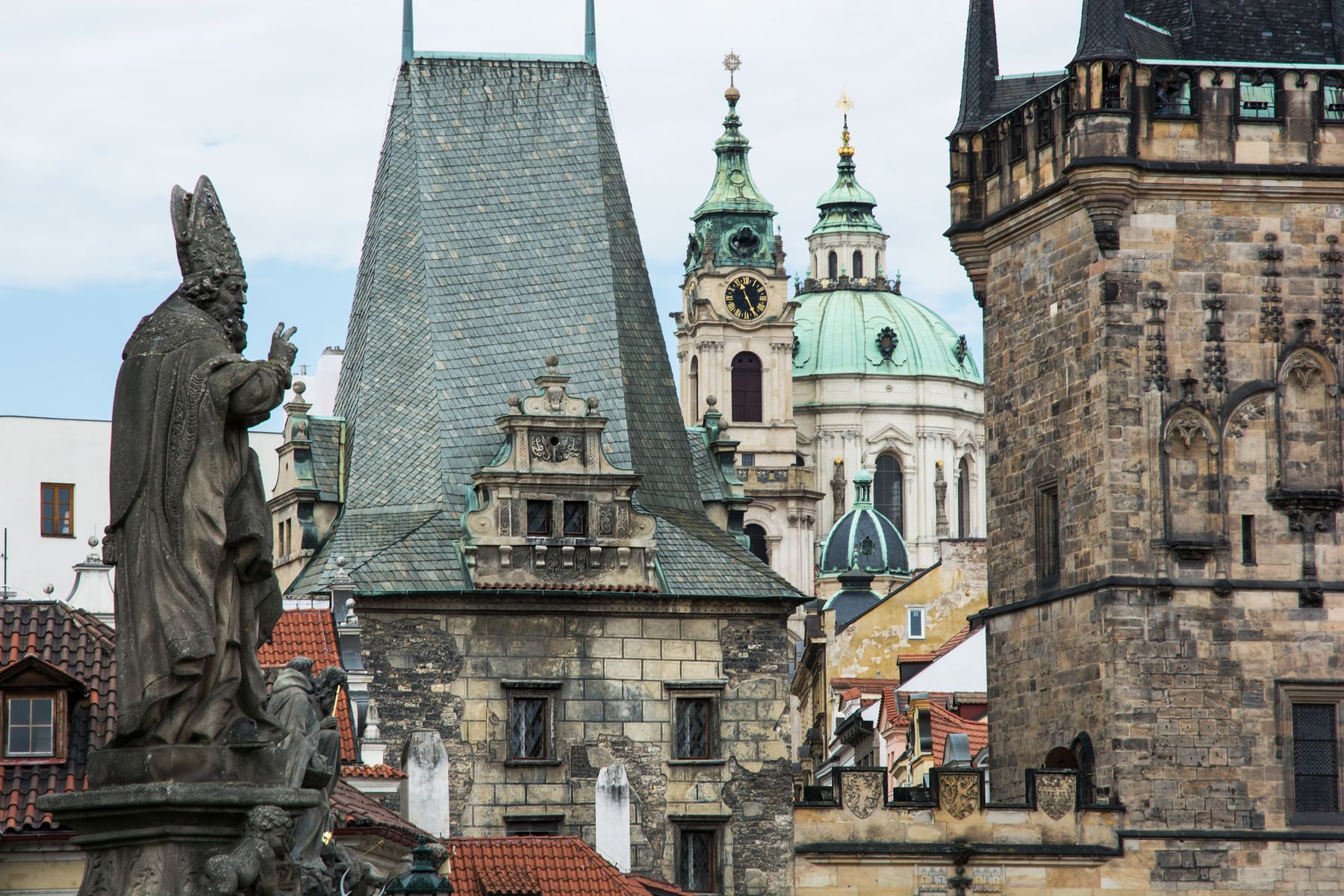 Prague can look like something out of a fairy tale.
