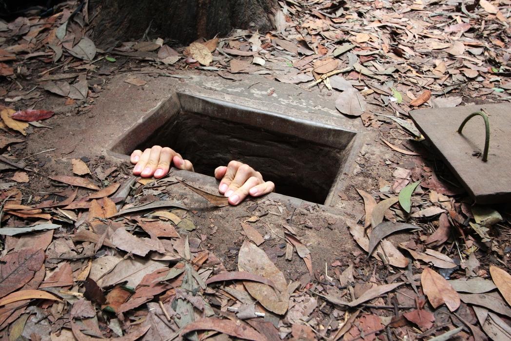 Τα τούνελ που χρησιμοποίησαν οι Βιετνκόνγκ κατά τον πόλεμο στο Βιετνάμ